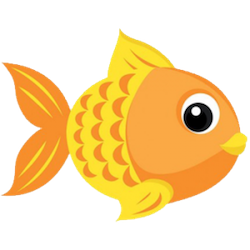 GoldFishMojis - GoldFish Emoji And Stickers messages sticker-1