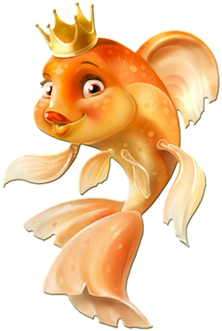 GoldFishMojis - GoldFish Emoji And Stickers messages sticker-9
