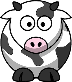 CowMojis - Cow Emojis And Stickers messages sticker-11