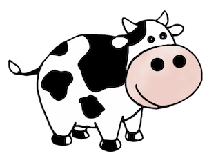 CowMojis - Cow Emojis And Stickers messages sticker-3
