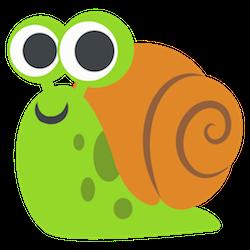 Snail Stickers messages sticker-2
