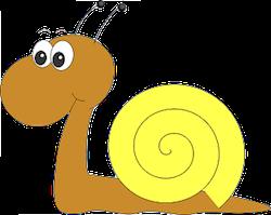 Snail Stickers messages sticker-4
