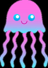 JellyFish Stickers messages sticker-0