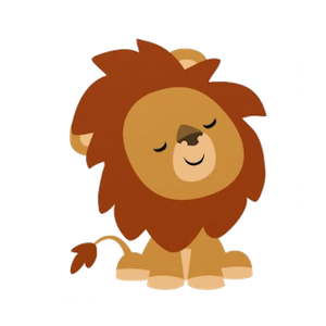LionMojis - Best Lion Emojis And Stickers messages sticker-1