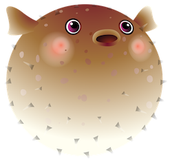 PufferFish Stickers messages sticker-8
