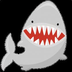 SharkMojis - Shark Emojis And Stickers messages sticker-10