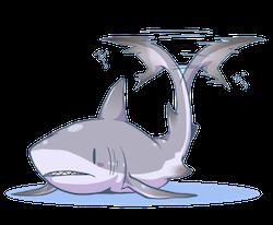 SharkMojis - Shark Emojis And Stickers messages sticker-11