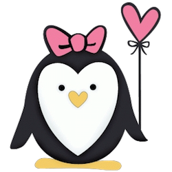 Penguin Cute Stickers messages sticker-9