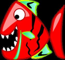 Piranha Stickers messages sticker-3