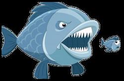Piranha Stickers messages sticker-2