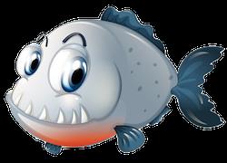 Piranha Stickers messages sticker-5