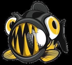 Piranha Stickers messages sticker-10