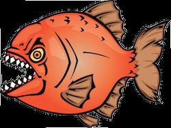 Piranha Stickers messages sticker-4