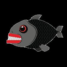 Piranha Stickers messages sticker-0