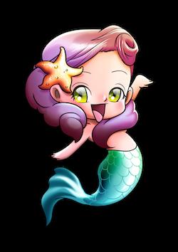 MermaidMojis - Mermaid Emoji And Stickers messages sticker-0