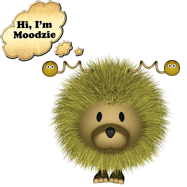 Moodzie and Emoji Sticker Pack For iMessage messages sticker-1