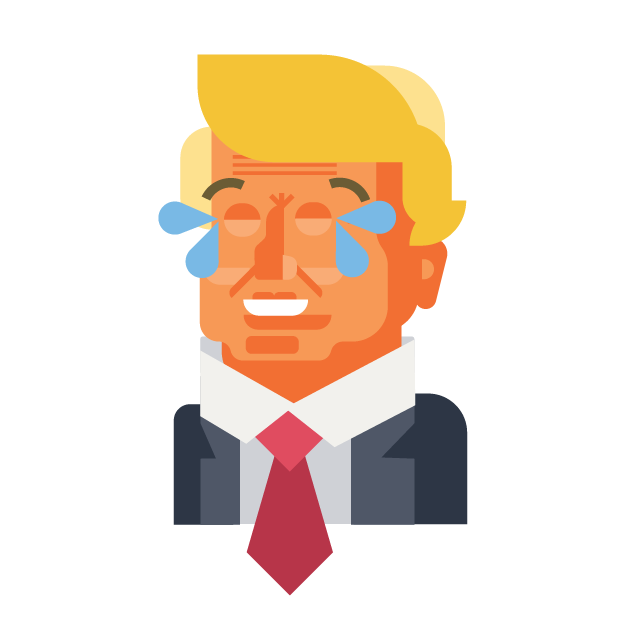 Trump and Friends Sticker Pack messages sticker-3