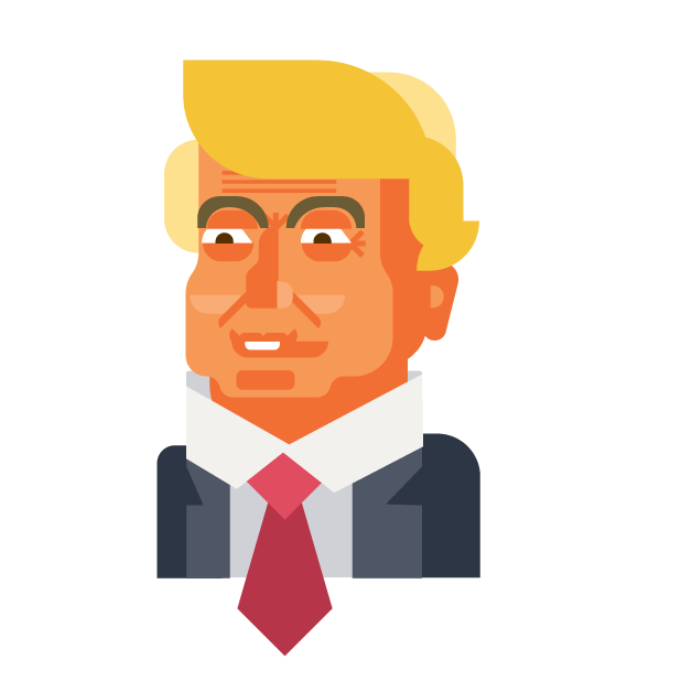 Trump and Friends Sticker Pack messages sticker-0