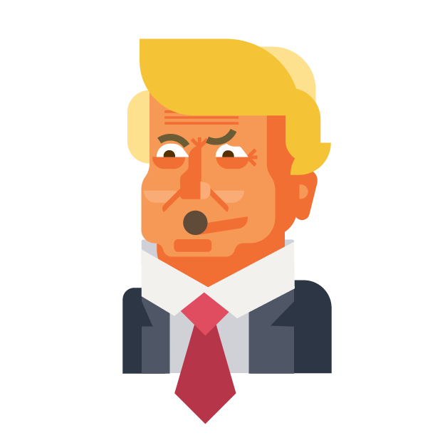 Trump and Friends Sticker Pack messages sticker-2