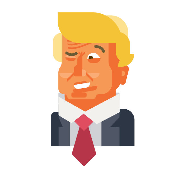 Trump and Friends Sticker Pack messages sticker-9