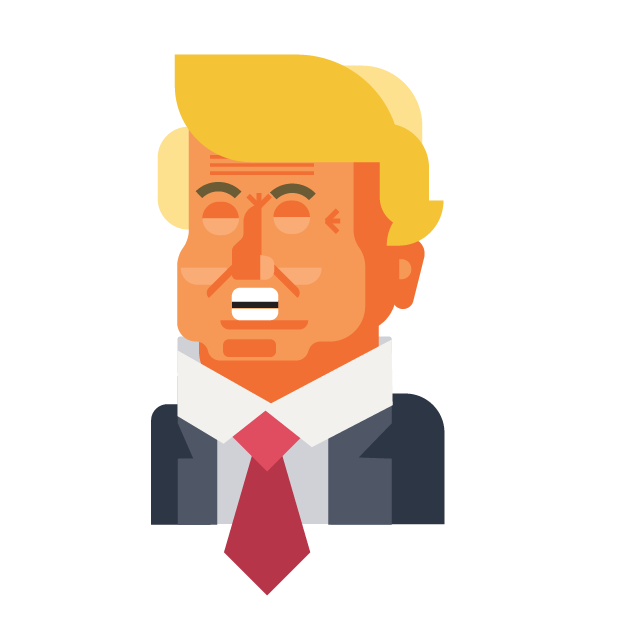 Trump and Friends Sticker Pack messages sticker-5