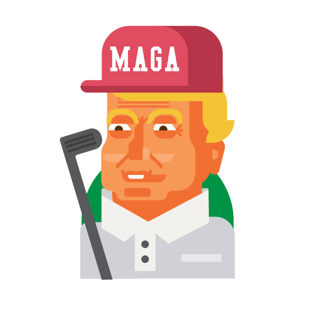Trump and Friends Sticker Pack messages sticker-11