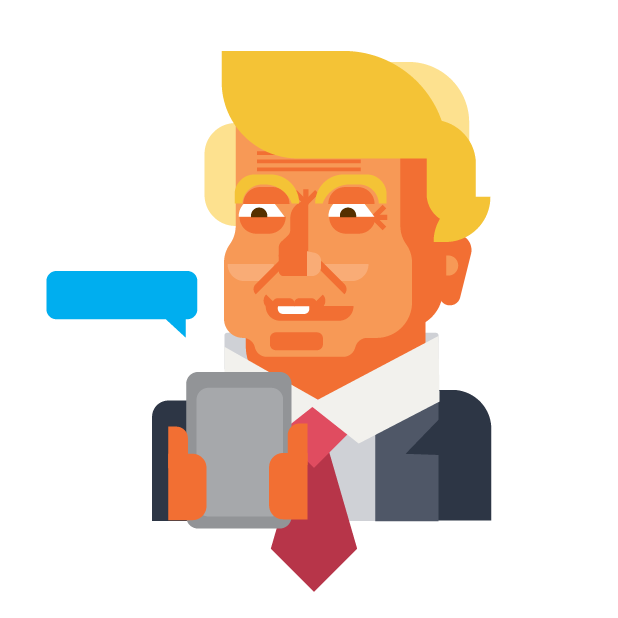 Trump and Friends Sticker Pack messages sticker-10