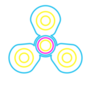 Fidget Spinner Top: Stress Free Game Simulator messages sticker-9