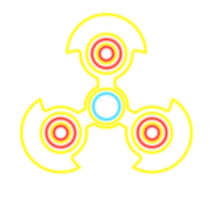 Fidget Spinner Top: Stress Free Game Simulator messages sticker-10