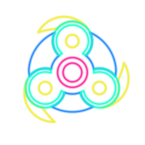 Fidget Spinner Top: Stress Free Game Simulator messages sticker-4