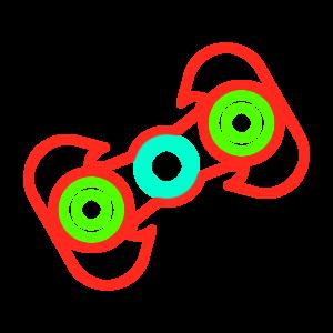 Fidget Spinner Top messages sticker-3