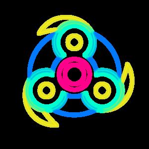 Fidget Spinner Top messages sticker-4