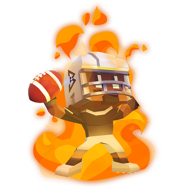 Marshawn Lynch Blocky Football messages sticker-1