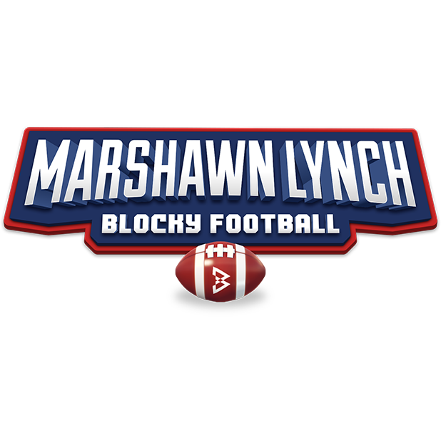 Marshawn Lynch Blocky Football messages sticker-4