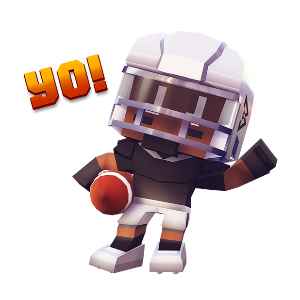 Marshawn Lynch Blocky Football messages sticker-8
