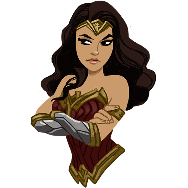 Wonder Woman messages sticker-10