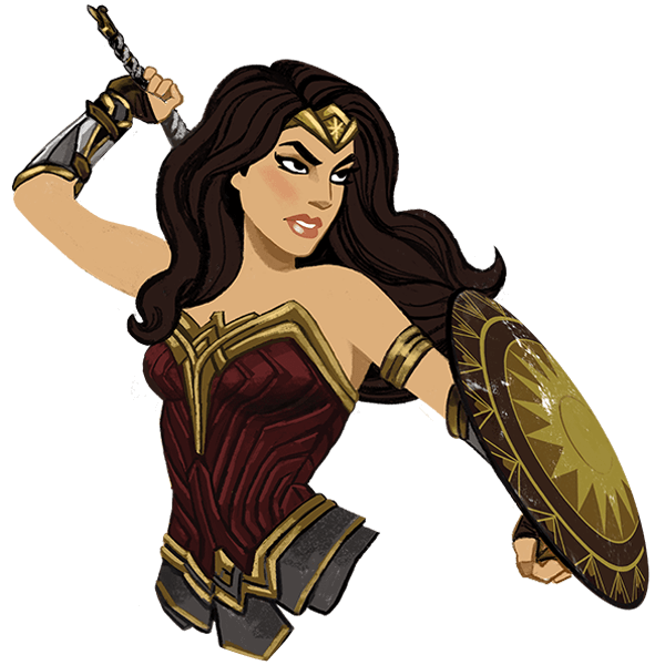 Wonder Woman messages sticker-0