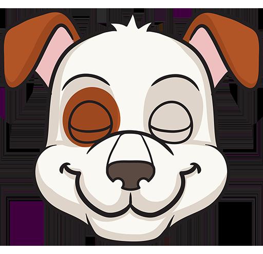 DogMoji - dog emoji & stickers for iMessage messages sticker-6