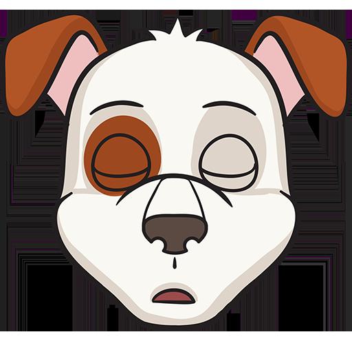 DogMoji - dog emoji & stickers for iMessage messages sticker-5