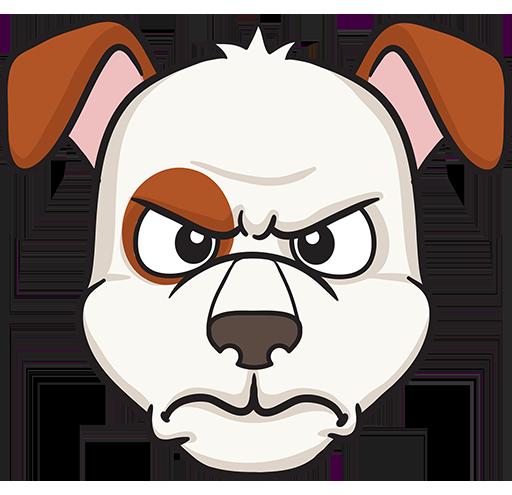DogMoji - dog emoji & stickers for iMessage messages sticker-10