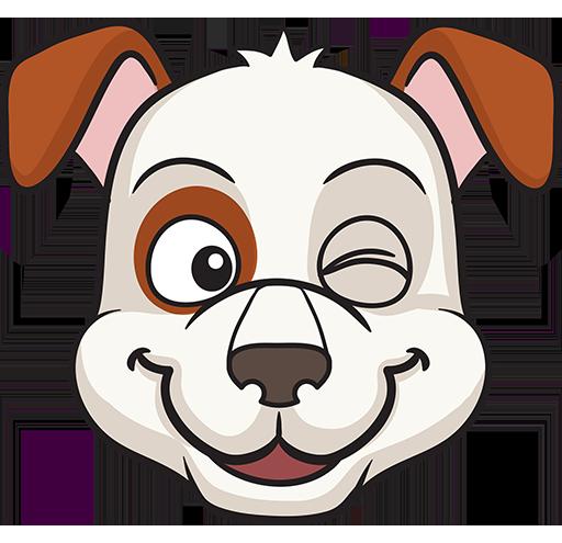 DogMoji - dog emoji & stickers for iMessage messages sticker-8