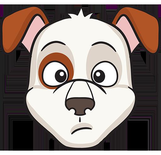 DogMoji - dog emoji & stickers for iMessage messages sticker-2