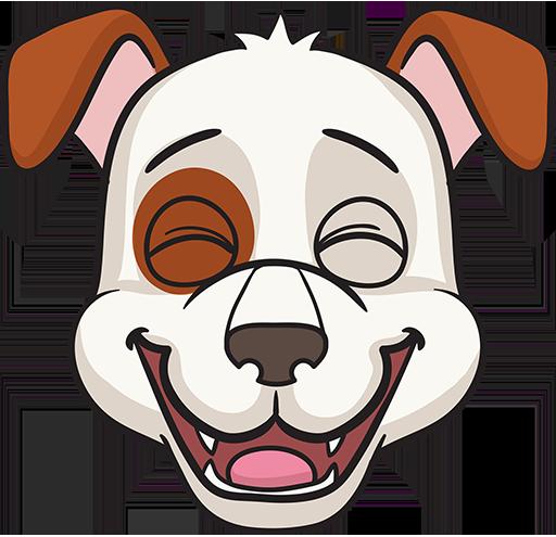 DogMoji - dog emoji & stickers for iMessage messages sticker-7