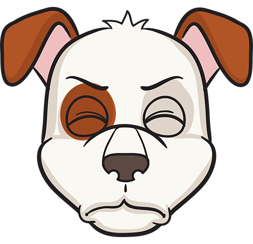 DogMoji - dog emoji & stickers for iMessage messages sticker-4