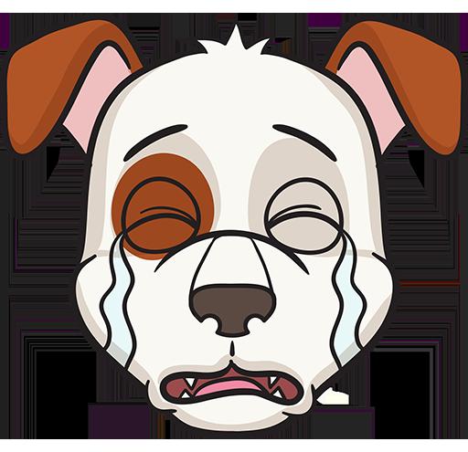 DogMoji - dog emoji & stickers for iMessage messages sticker-3