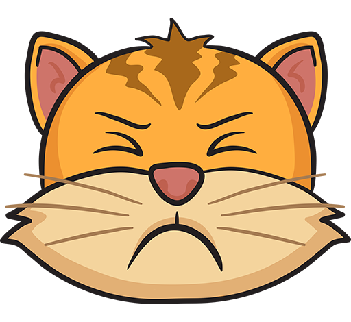 CatMoji - cat stickers & emoji keyboard app messages sticker-4