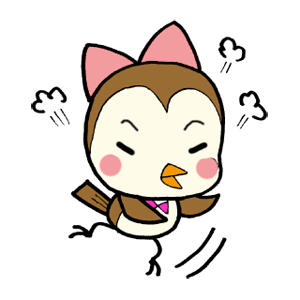 Kawaii Bird Japan messages sticker-9