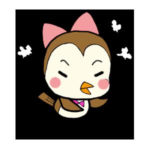 Kawaii Bird Japan messages sticker-9