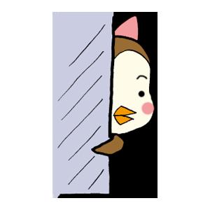 Kawaii Bird Japan messages sticker-11
