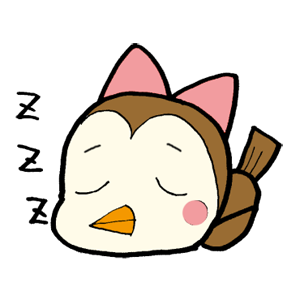 Kawaii Bird Japan messages sticker-8